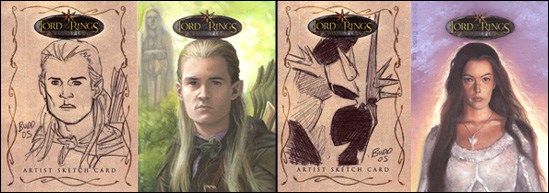 Lord of the Rings Evolution Aftermarket Cards